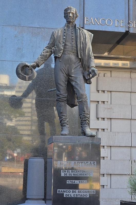 Jose Artigas Хосе Артигас - уругвайский герой