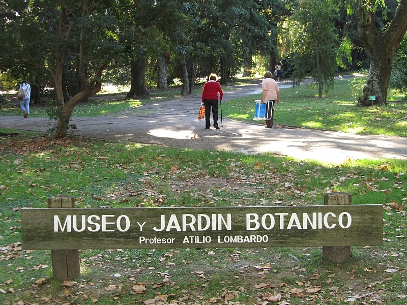 Ботанический сад Монтевидео Уругвай