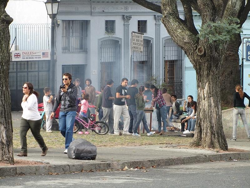 Уругвайцы празднуют 1 мая