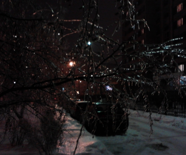 Ледяной дождь 30 ноября 2012
